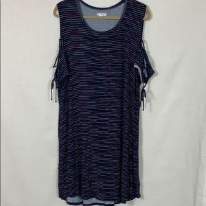 Maurices Navy w/Colorful Stripes Size XXL